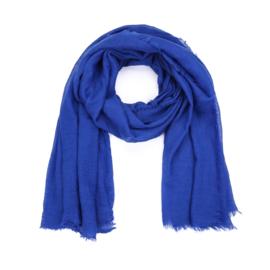 Dunne Sjaal rechthoek Blauw
