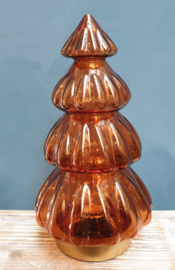 Kerstboom met verlichting L Brique