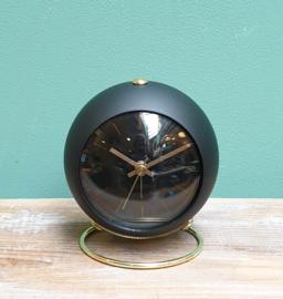 Karlsson Alarm clock Globe Black