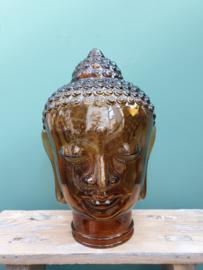 Budha glas cognac 30 cm