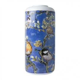Cilinder vaas Vogels van Gogh 30,5 cm