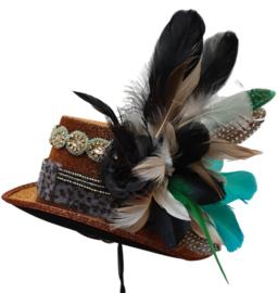 """Opgemaakte hoed: """"Deer"""""""