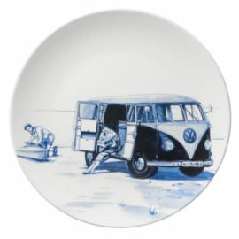 Bord VW busje Delfts Blauw