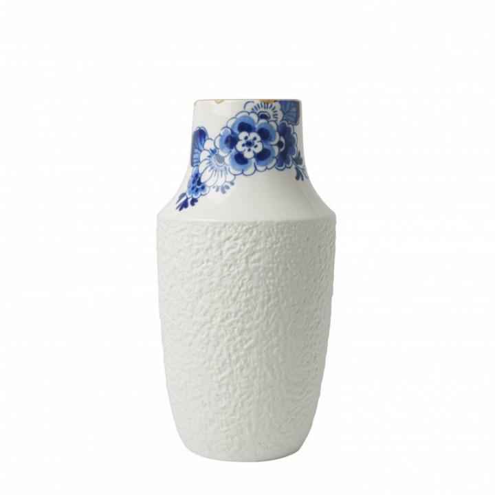 Vaas Delfts Blauw bloesem 19,5 x 10 cm