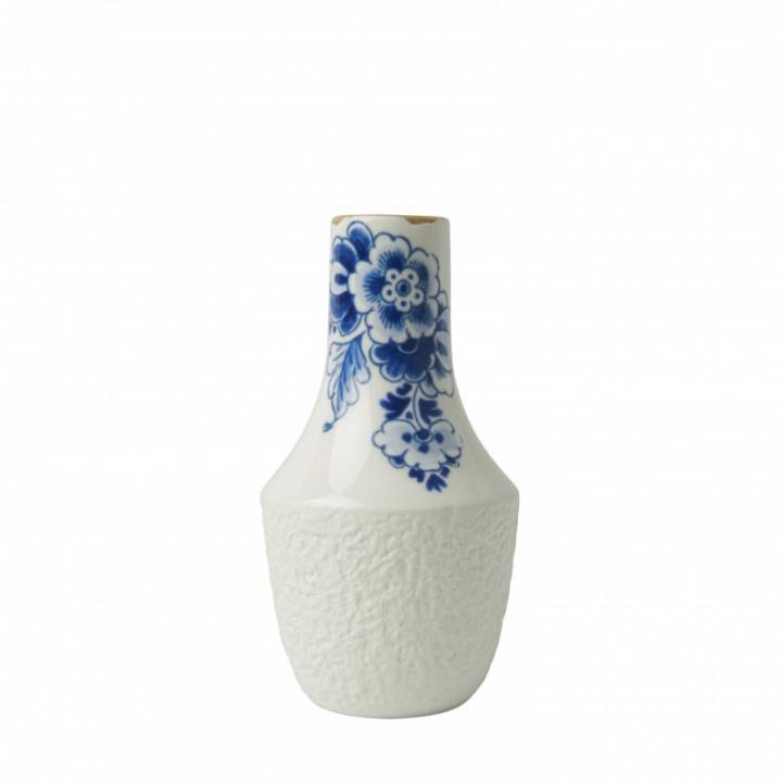 Vaasje Delfts Blauw bloesem 14 x 7 cm