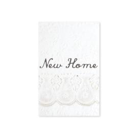 Minikaartje 'New Home'