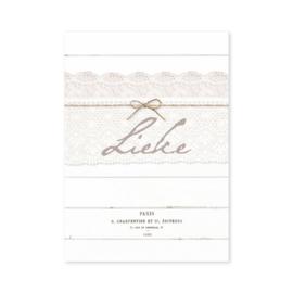Geboortekaartje Lieke