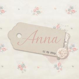 Geboortekaartje Anna