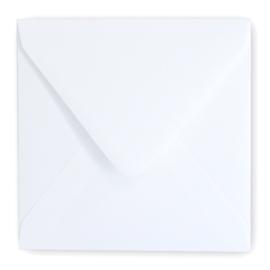 Envelop  wit 14 x 14 cm