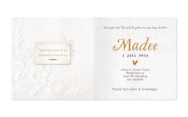 Geboortekaartje Madee