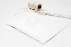 Pergamijn envelopjes middel