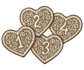 Maileg gingerbread labels