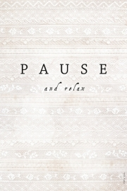 Poster Pause - A4