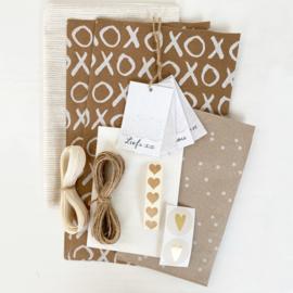 DIY inpakset 02 - Kraft&White