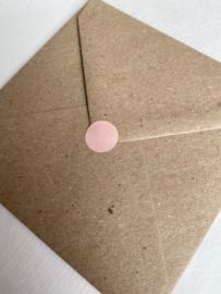 Sticker stip - roze