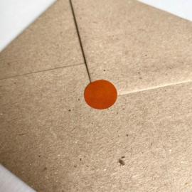 Sticker stip - Roest