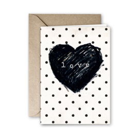 Kaart 'Love'