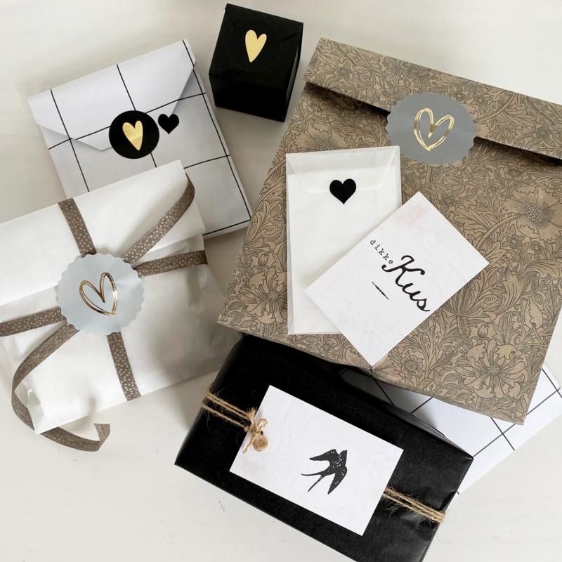 DIY inpakset 01 - Black&White