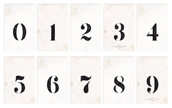 Cijfer labels