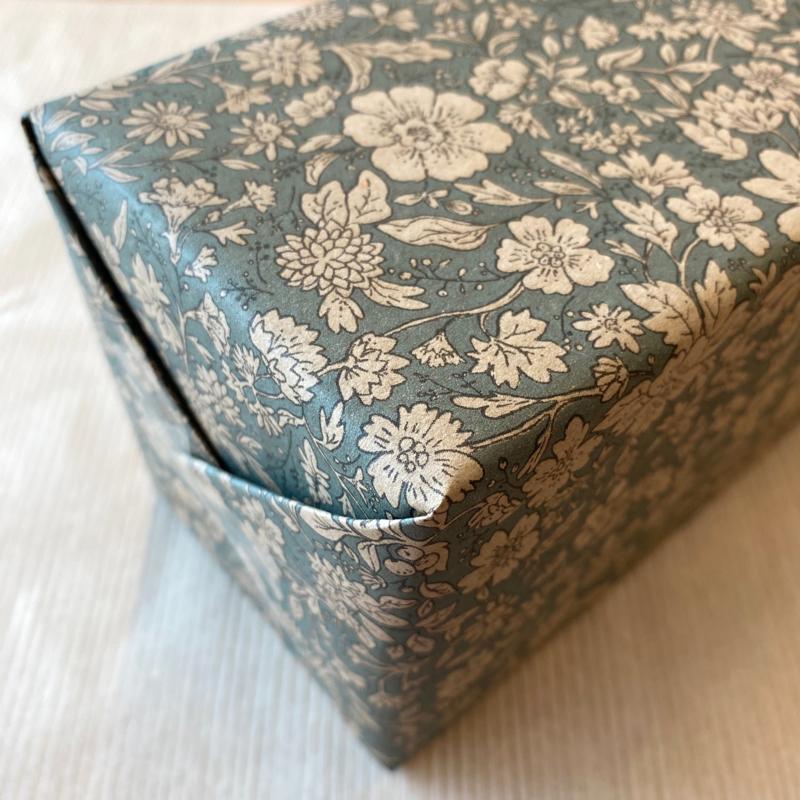 Maileg cadeaupapier Blossom blue