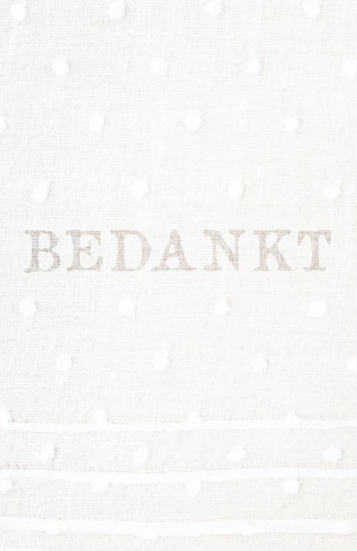 PST02 Blanco bedankkaartje - DOTS