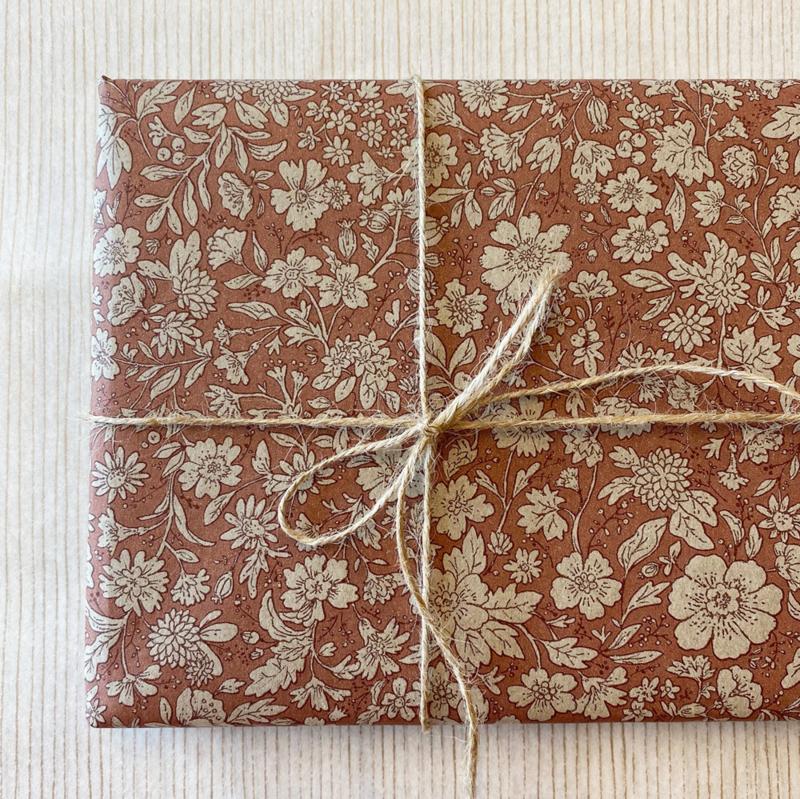 Maileg cadeaupapier Blossom rose