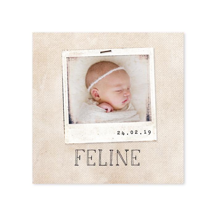 Geboortekaartje Feline
