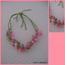 Zomerfris groen-roze