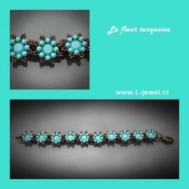 La Fleur turquoise