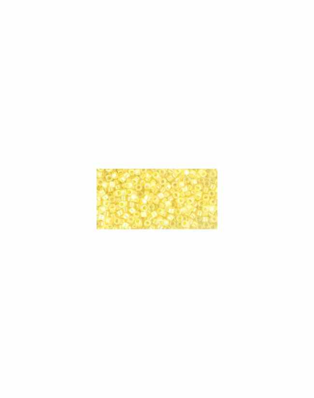 TT-01-770 Inside-Color Crystal/Opaque Yellow Lined