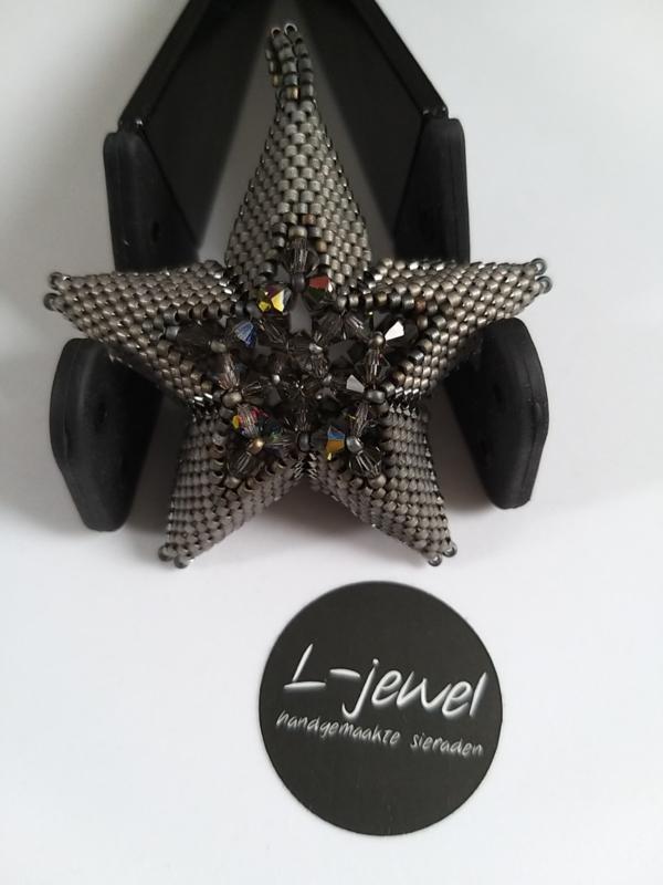 Sparkle star grey