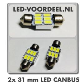 Auto Interieur/Binnenverlichting - 31mm - 2X