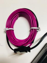 Neon EL(electroluminescent) draad - Roze