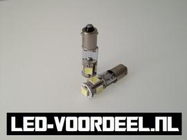 BA9s R5W bajonet - LED - Met canbus