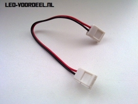 Doorkoppel stekker  8mm led strips