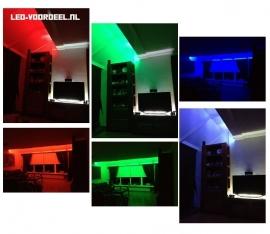 RGB 5 meter - 150SMD - IP65 - Complete Set