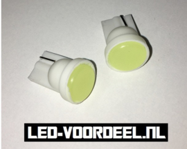 W5W - T10 - COB led - High power (1setje)