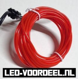 Neon EL(electroluminescent) draad - Rood