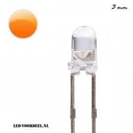 LEDjes 3mm Oranje (10stuks)