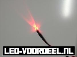 LEDjes 3mm Rood  12 Volt
