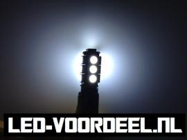 T10 W5W 13 smd LED - Canbus stadslicht - 1 setje