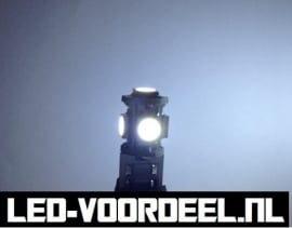 T10 W5W 5 smd LED - Canbus stadslicht - 1 setje