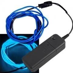 Neon EL(electroluminescent) draad - BLAUW