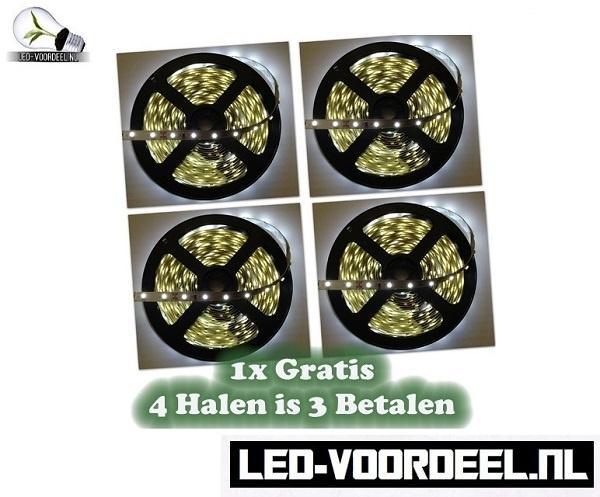 LED Strip - Helder wit - IP20 - 20 METER