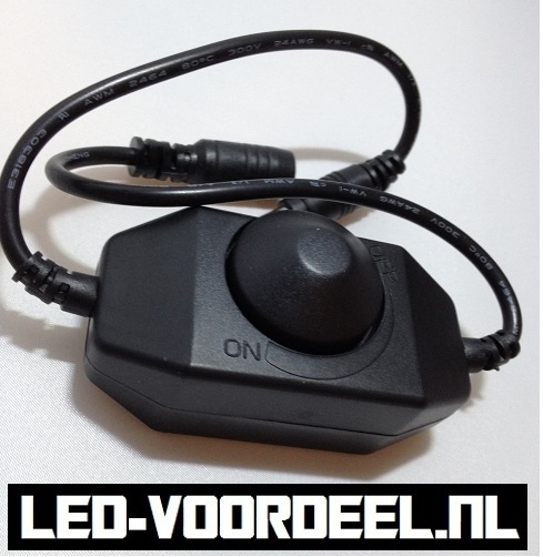 LED Snoer-dimmer  12V 48Watt
