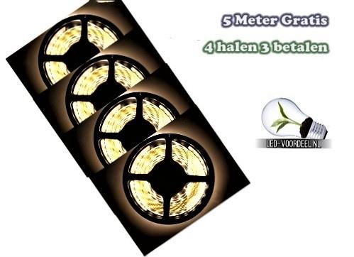 LED Strip - Warm wit - IP20 - 20 METER