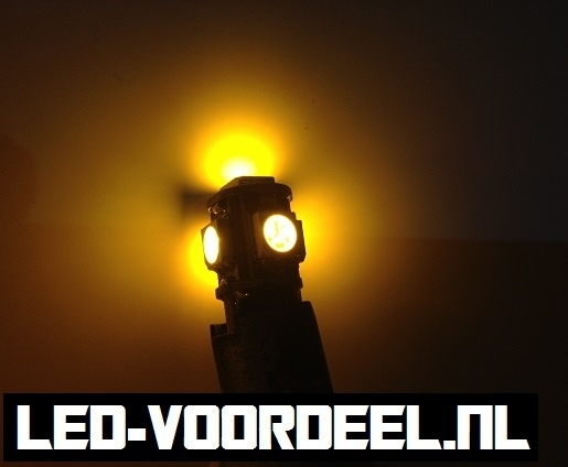 T10 W5W 5 smd LED - Canbus Knipperlicht - 1 setje