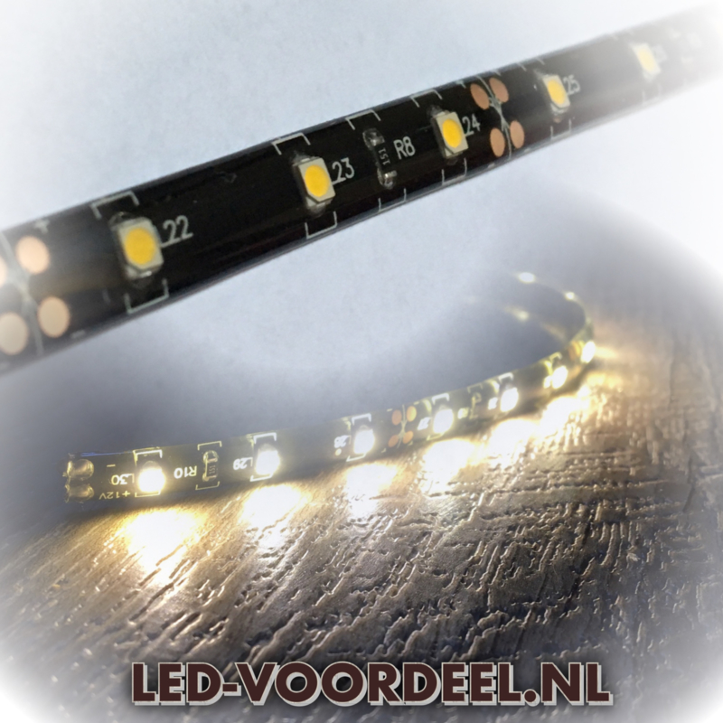 Flexibele LED strip - 30 cm - Warm wit