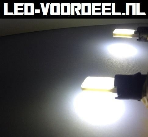W5W T10 - COB led - Canbus stadslicht - wit - 1 setje