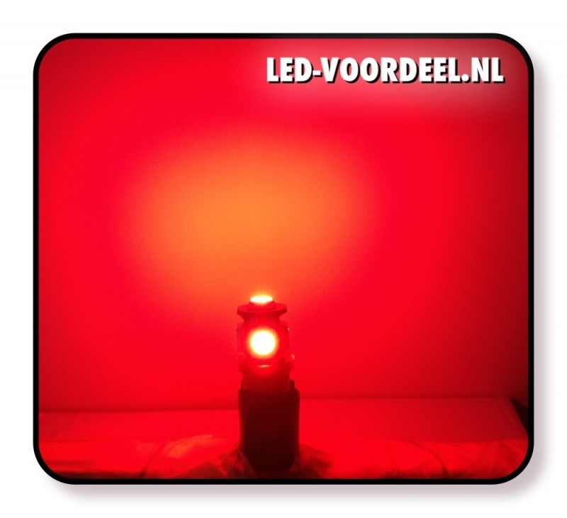 T10 - 5 SMD - ROOD